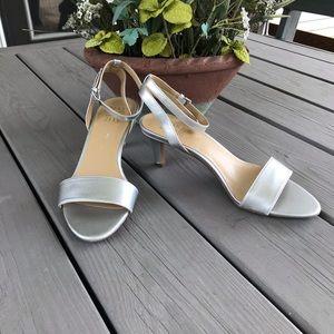 Naturalizer Silver Matte Heels - New!